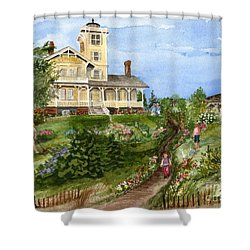 A Garden For All Ages Shower Curtain