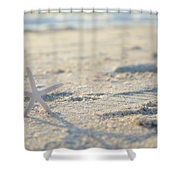 A Gentle Thought Shower Curtain