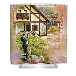 A Glimpse Of Bavaria In West Virginia Shower Curtain