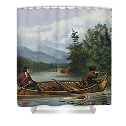 A Good Chance Circa 1863 Shower Curtain by Aged Pixel