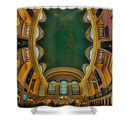 A Grand View  Shower Curtain by Susan Candelario
