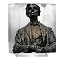 A Great Man Shower Curtain