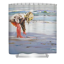 A Great Shell Shower Curtain