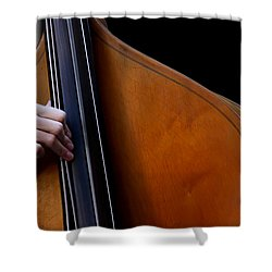 A Hand Of Jazz Shower Curtain