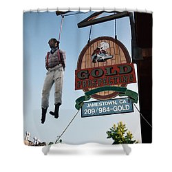 A Hanged Man In Jamestown Shower Curtain