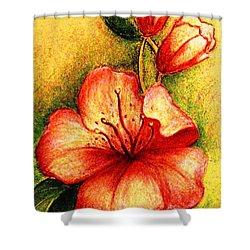A Harbinger Of Springtime Shower Curtain
