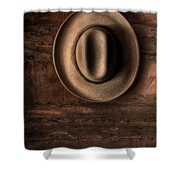 A Hat For Maynard Shower Curtain by William Fields