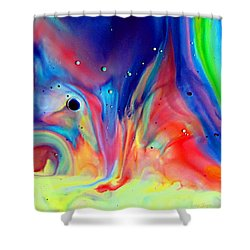 Shower Curtain featuring the photograph A Higher Frequency by Joyce Dickens