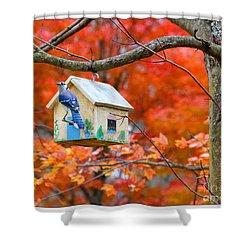 A Home In The Country Shower Curtain by Mariarosa Rockefeller