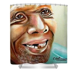 A Joyful Heart Shower Curtain