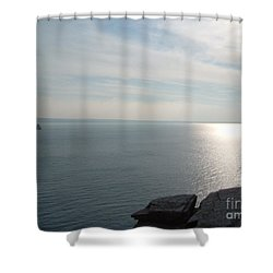 A King's View Shower Curtain by Richard Brookes