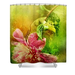 A Kiss Before Sunset Shower Curtain