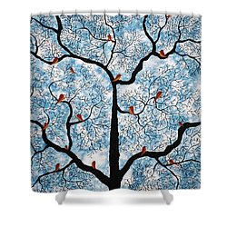 A Lazy Afternoon Shower Curtain