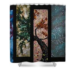 A Life Shower Curtain