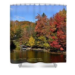 A Little Piece Of Adirondack Heaven Shower Curtain