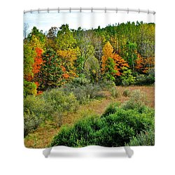 A Lofty Perch Shower Curtain by Frozen in Time Fine Art Photography