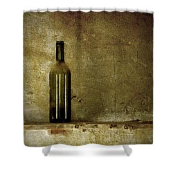 A Lonely Bottle Shower Curtain by RicardMN Photography