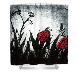A Love Story No 14 Shower Curtain