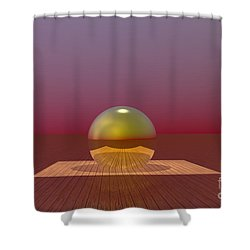 A Lozenge For The Soul Shower Curtain by Barbara Milton