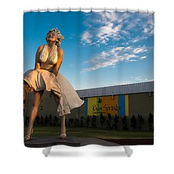 A Marilyn Morning Shower Curtain