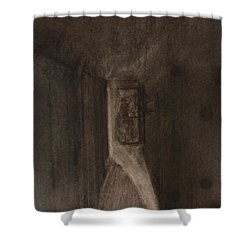 A Memory Shower Curtain by Roger Cummiskey