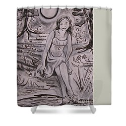 A Midsummer Night's Dream Play Shower Curtain