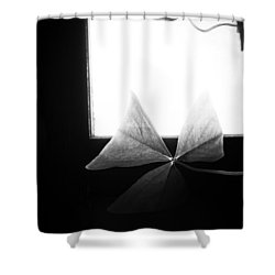 A Moment Alone Shower Curtain