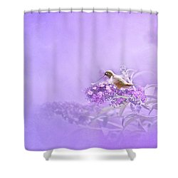 A Moment Shower Curtain by Diane Schuster