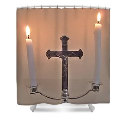 A Moment Of Peace Shower Curtain by John Williams