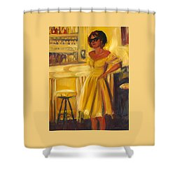 A Moment To Consider Shower Curtain