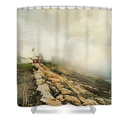 A Morning In Maine 2 Shower Curtain by Darren Fisher