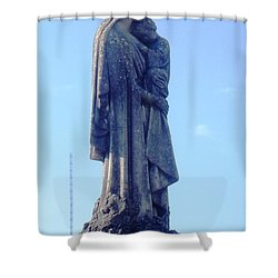 Shower Curtain featuring the photograph A Mother's Love by Alys Caviness-Gober