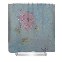 A Mother's Love Shower Curtain by Judith Rhue