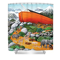 A New Beginning Shower Curtain by Wilfrido Limvalencia