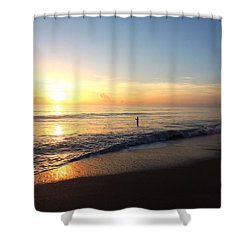 A New Day Begins Shower Curtain