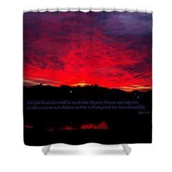 A New Day Shower Curtain by Robert ONeil