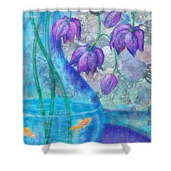 A New Home Shower Curtain by Susan DeLain
