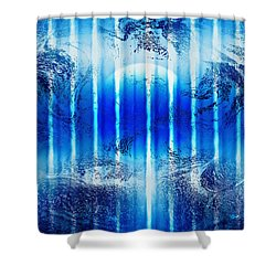 Realm Of Tranquility Shower Curtain by Kellice Swaggerty