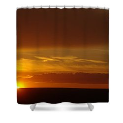 A Nice Cintemplative Sky  Shower Curtain by Jeff Swan