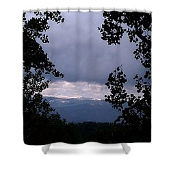 Shower Curtain featuring the photograph A Peek At Heaven by Fortunate Findings Shirley Dickerson
