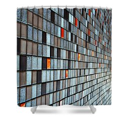 A Perspective Thing Shower Curtain