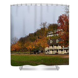 A Place In Time Shower Curtain