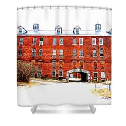 A Place Of Lost Dreams Shower Curtain