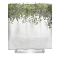 A Place So Far Yet Feels Like Home Shower Curtain by Brett Pfister