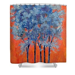A Place To Call Home Shower Curtain by Suzanne Theis