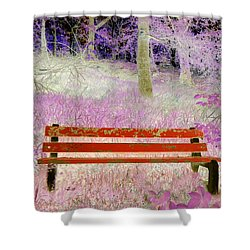 A Place To Rest Shower Curtain by The Creative Minds Art and Photography