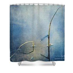 A Quiet Moment Shower Curtain by Priska Wettstein