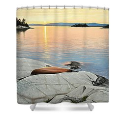 A Quiet Time Shower Curtain