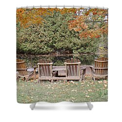 Shower Curtain featuring the photograph Relax For A Moment  by Brenda Brown