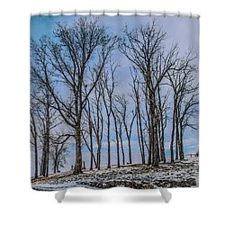 A Resting Place Shower Curtain by Ray Congrove
